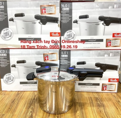 Nồi áp suất Fissler - Made in Germany